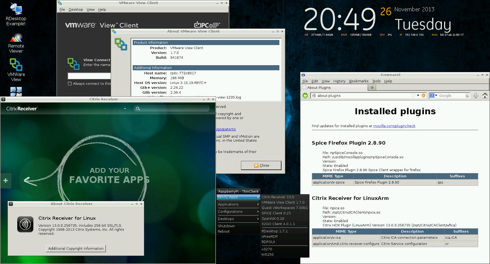 RaspiTC-screen